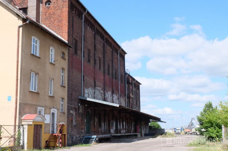 widok budynku