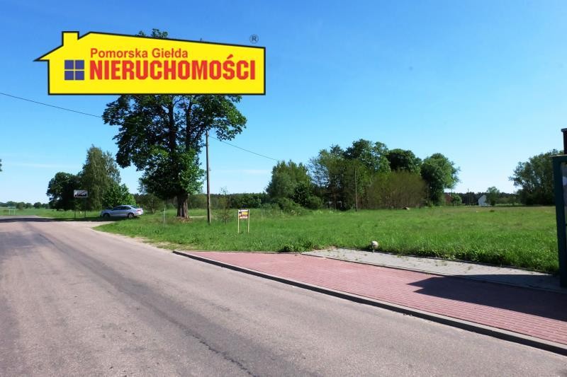 widok na drogę dojazdową